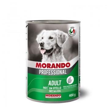 Morando / Морандо Professional консервированный корм для собак паштет с телятиной, 400г, жб