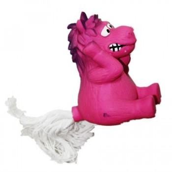 """Ziver / Зивер Игрушка """"Лошадь с веревочным хвостом розовая"""", 12 см"""