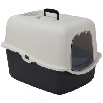 Petmode Туалет-домик Solitude Range 55х44х43, серый
