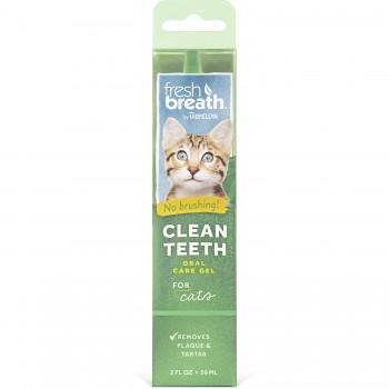 TropiClean / Тропиклин Гель для чистки зубов для кошек 59 мл