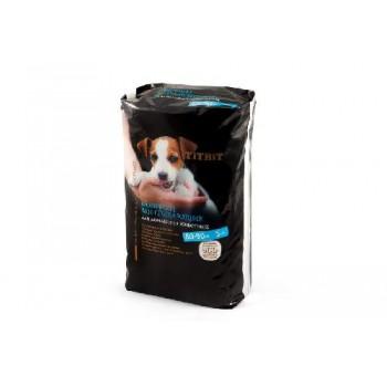 TitBit / ТитБит Коврики впитывающие для ухода за домашними животными 60х90 см (5 шт)