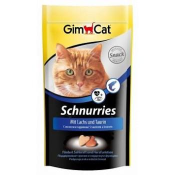 """Gimcat / ГимКэт Лакомство витаминиз.""""Сердечки"""" с лососем д/кошек, 40 г"""