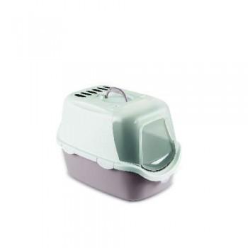 Stefanplast / Стефанпласт Туалет-Домик Cathy Easy Clean с угольным фильтром, пудровый, 56*40*40см