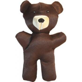 JW Игрушка д/собак - Медвежонок, хрустящая, средняя Crackle Heads Canvaz Bear Medium (47044)