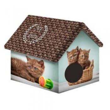 PERSEILINE ДОМ ДИЗАЙН для животных 33*33*40 Шоколадные котята (00252/ДМД-1)