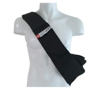 Слинг-переноска для собак малых и средних пород, черная (полиэстер) (Basic pocket black)
