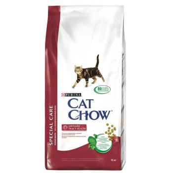 """Cat Chow / Кэт Чоу """"Special Care"""" сухой 15 кг для кошек с Мочекаменной Болезнью"""