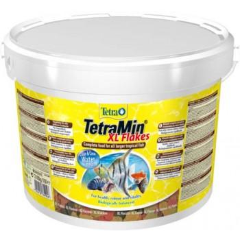 TetraMin / Тетра XL корм для всех видов рыб крупные хлопья 10 л (ведро)
