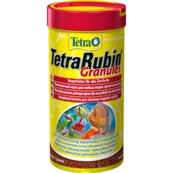 TetraRubin / Тетра Granules корм в гранулах для улуч.окраса всех видов рыб 250 мл