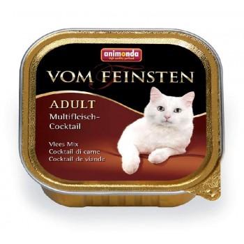 Animonda Vom Feinsten Classic конс. 100 гр. коктейль из разных сортов мяса для кошек(ламистер) 83441