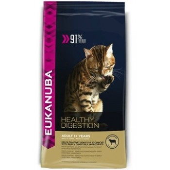 EUKANUBA / Еукануба Cat корм для взрослых кошек ягненок/ливер 400 г