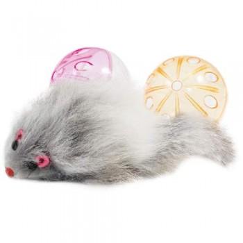 Triol / Триол Набор игрушек XW0329 для кошек (2 мяча, мышь), d45мм; 55мм
