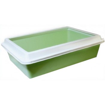 ZOOexpress LUX туалет для кошек с рамкой 40,5х30х12 см (1х10) 11081