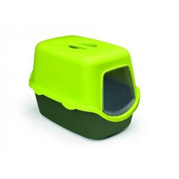 Stefanplast / Стефанпласт Туалет закрытый Cathy Trendy Colour, салатово-зеленый, 56*40*40 см
