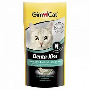 """Gimcat / ГимКэт Лакомство витаминиз.""""Дента-Кисс"""" для очистки зубов д/кошек, 40 г"""