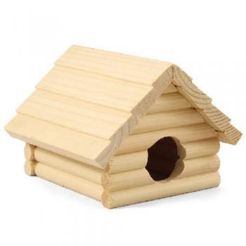 Gamma / Гамма Домик для мелких животных деревянный, 135*130*95мм