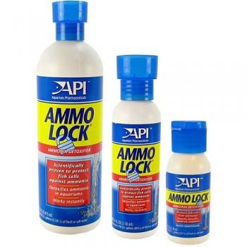 API / АПИ АммоЛок - Кондиционер для аквариумной воды Ammo-Lock, 473ml