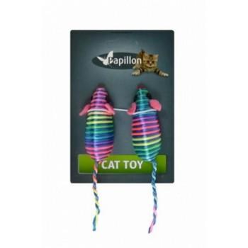 Papillon / Папиллон Игрушка разноцветная Мышка, 7см