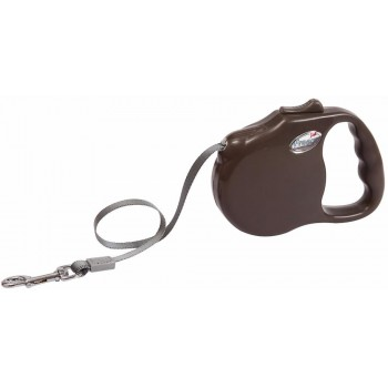 """Freego / Фрего Рулетка """"Элеганс"""" лента, 5м х 41кг, разм.L, коричневая"""