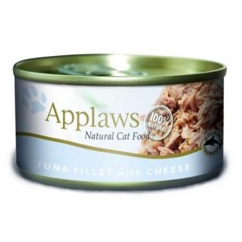 Applaws / Эпплаус Консервы для кошек с филе Тунца и сыром 0,07 кг
