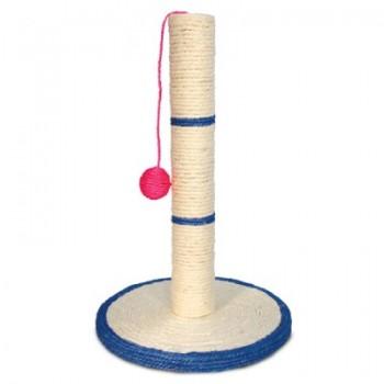 """Triol / Триол Когтеточка из сизаля """"Столбик №206"""" с шариком, d300*460мм"""