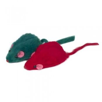 Triol / Триол Набор игрушек XW0067 для кошек (3 мыши), 45мм