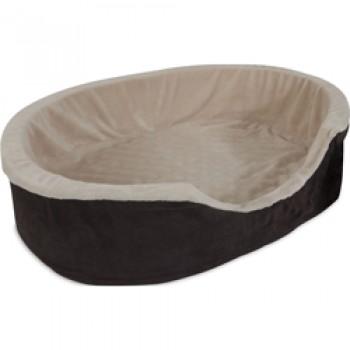 Petmate / Петмейт Лежак для собак, с бортиками, овальный, маленький 58 х 43 х 18 см