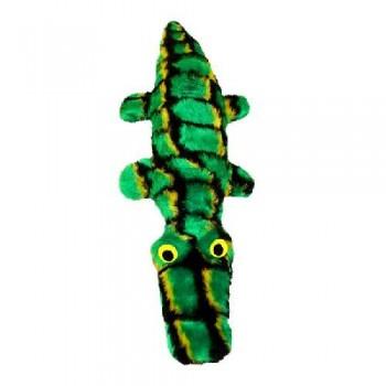 """Зооник Игрушка""""Крокодильчик"""" с пищиком, бутылка,мех (170х100х470)"""