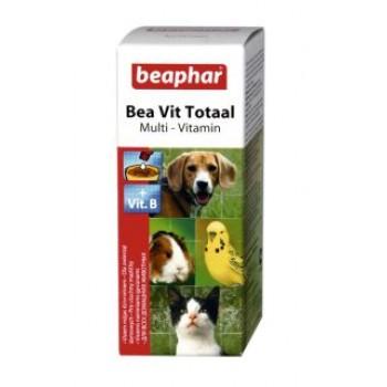 Beaphar / Беафар ВитаМиниз. лакомство «Vit Total» в период линьки д/кошек и собак, 50мл