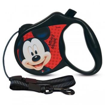 Disney / Дисней WD1002 Поводок-Рулетка Mickey M (5м до 20кг)