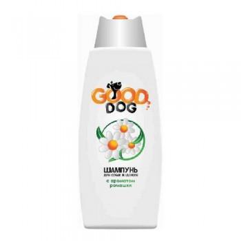 Good Dog Шампунь для СОБАК и ЩЕНКОВ с ароматом РОМАШКИ, 250 мл