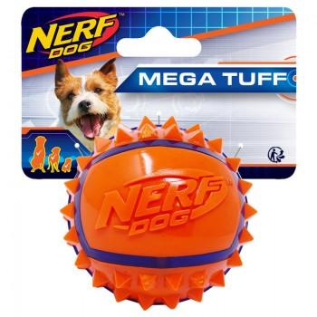 Nerf / Нёрф Мяч с шипами из термопластичной резины, 6 см, (синий/оранжевый)
