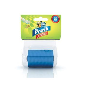 Mr.Fresh / М.Фреш Пакеты для уборки фекалий (сменный рулон) 20 пакетов