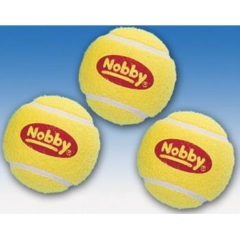 Nobby / Нобби Игрушка для собак Мяч тенисный 6см 3шт/уп 79448