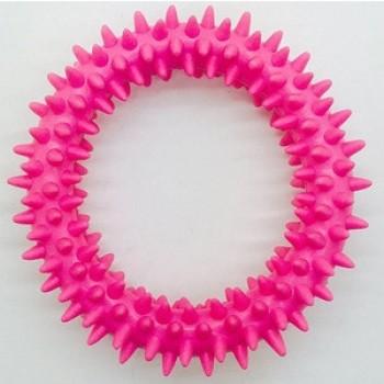 """Игрушка """"Грызлик Ам"""" Кольцо с шипапи 10 см, розовое"""