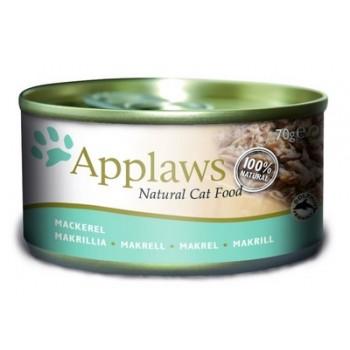 Applaws / Эпплаус Консервы для кошек со Скумбрией и Сардинками 0,07 кг