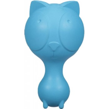 JW Игрушка д/собак - Котенок с пищалкой, каучук Ruffians Cat (43200)