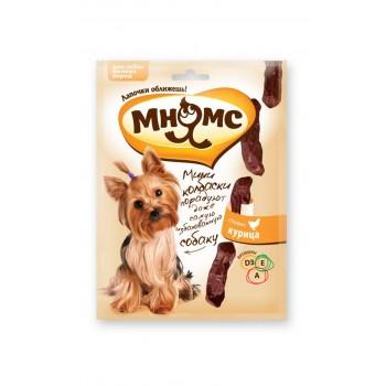 Мнямс Мини-колбаски с курицей для собак мелких пород 75 г
