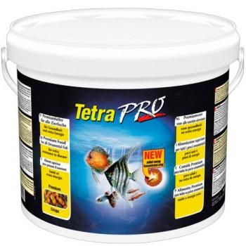 TetraPro / Тетра Energy Crisps корм-чипсы для всех видов рыб для дополнительной энергии 10 л (ведро)