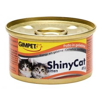 Gimpet / Гимпет Консервы ShinyCat kitten с цыпленком д/котят, 85 г