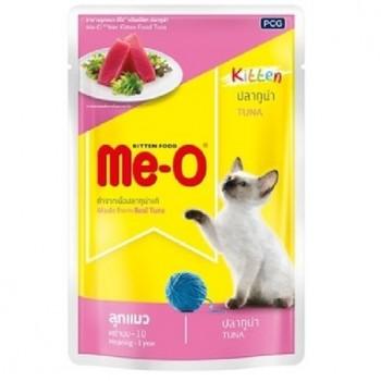 Ме-О Kitten пауч д/котят №2 Тунец в желе 80г 92810
