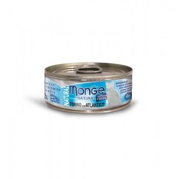 Monge / Монж Cat Natural консервы для кошек атлантический тунец 80г