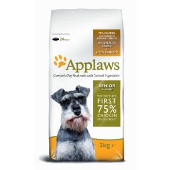 """Applaws / Эпплаус для Пожилых собак """"Курица/Овощи: 75/25%"""" 2 кг"""