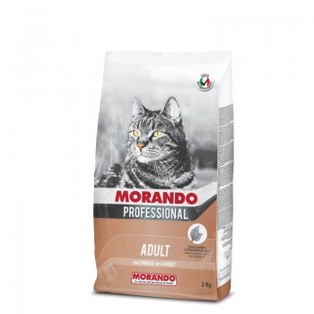 Morando / Морандо Professional Gatto сухой корм для взрослых кошек с кроликом, 2 кг