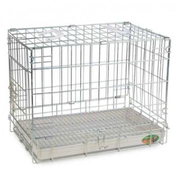 Triol / Триол Клетка 002SC для животных, хром, 610*455*520мм