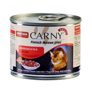 Animonda Carny Adult конс. 200 гр. с Отборной говядиной для взрослых кошек 83498