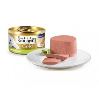 Gourmet Gold / Гоурмет Голд для кошек Кролик паштет 85 гр