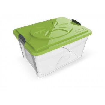 Bama Pet контейнер для хранения корма SIM BOX 18л 40x30x22h см, прозрачный