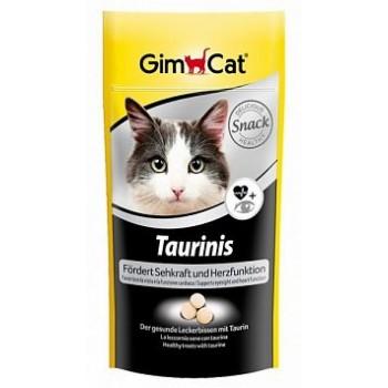 """Gimcat / ГимКэт Лакомство витаминиз.""""Тауринис"""" с таурином д/кошек, 40г"""