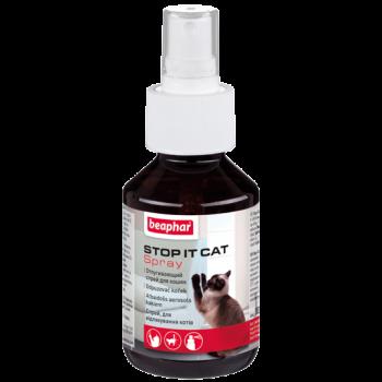 Beaphar / Беафар Спрей «Stop it Cat» отпугивающий д/кошек, для защиты мест и предметов интерьера,100 мл
